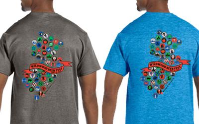 Wildwood Beer Fest Shirts