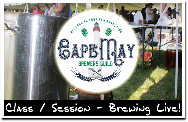 Cape May Brewers Guild Brewing Live at Wildwood Beer Fest