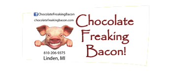 Chocolate Freaking Bacon Wildwood Beer Fest vendor