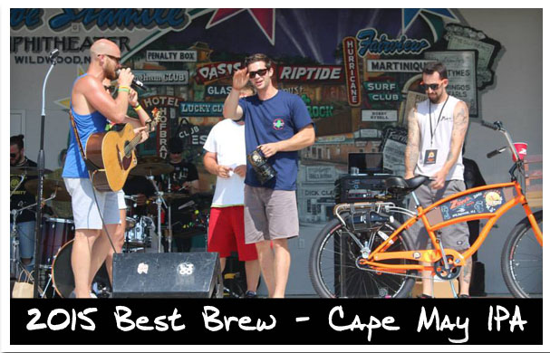 2015 Best Brew – Cap May IPA